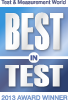 Best in Test 2013 Award Winner